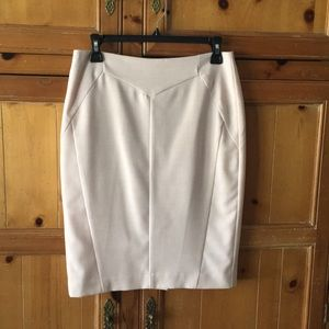 Pretty blush color pencil skirt. Fully lined.